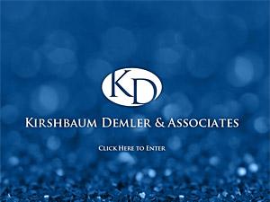 Custom website design for Kirshbaum Demler & Assoc.