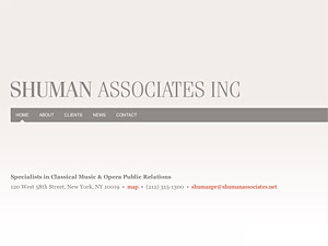 Custom website design for Shuman Associates